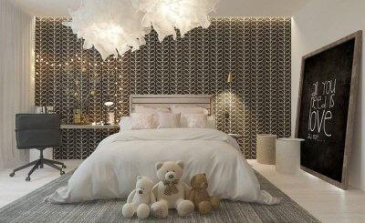 23 Mẫu đèn trang trí phòng ngủ đẹp và lung linh 2021 cho căn phòng bạn