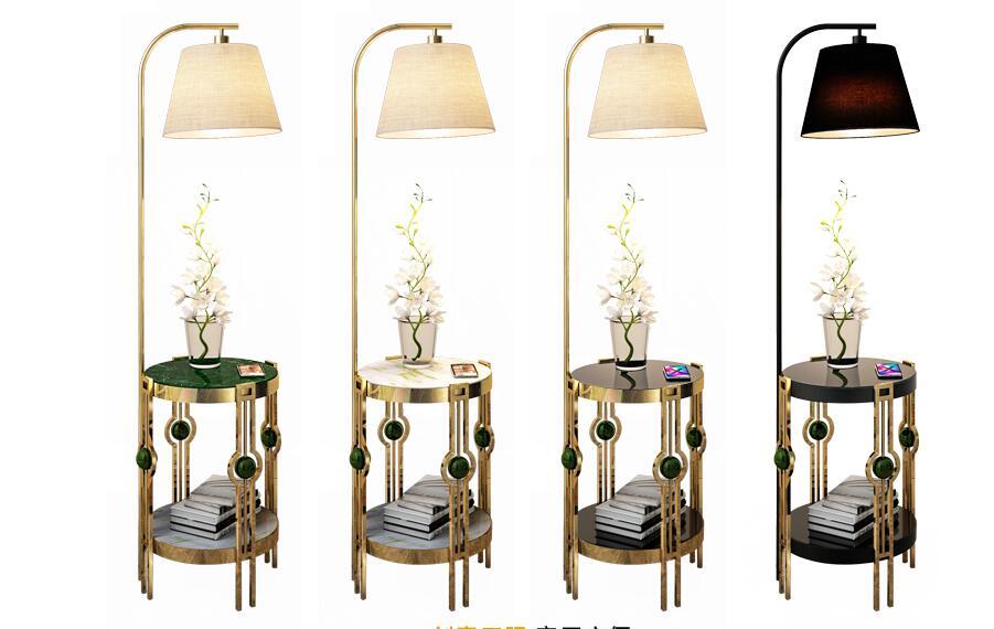 4 mẫu đèn cây trang trí phòng khách độc đáo