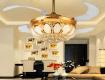 44 Mẫu đèn trang trí phòng khách mới nhất xu hướng hiện nay