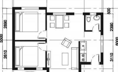 9 Mẫu bản vẽ nhà cấp 4 đẹp và chi phí rẻ mà gia chủ không thể bỏ qua