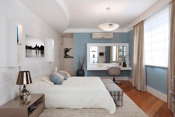 Bắc và Đông hay Đông Nam là hướng đặt bàn trang điểm trong phòng ngủ tốt nhất