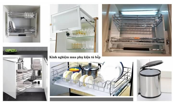Bộ phụ kiện tủ bếp Eurogold