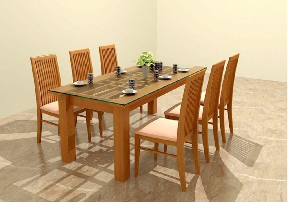 Cách chọn kích thước bàn ăn theo phong thủy cho nhà của bạn