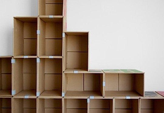 Cách làm kệ để giày bằng giấy carton đơn giản