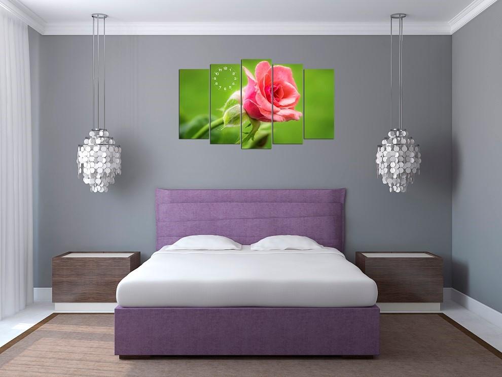 Cách trang trí phòng ngủ nhỏ dễ thương cho nữ với tranh vẽ hay tranh treo tường