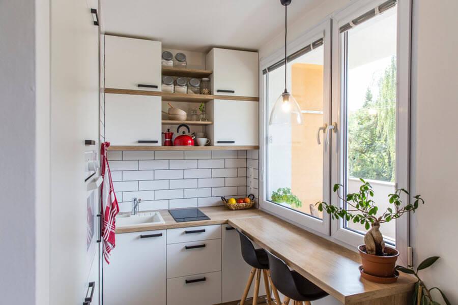 Cách lựa chọn nội thất cho những mẫu nhà bếp nhỏ đẹp