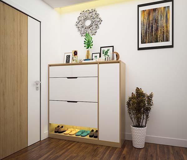 Chọn kích thước của tủ phù hợp với không gian nhà