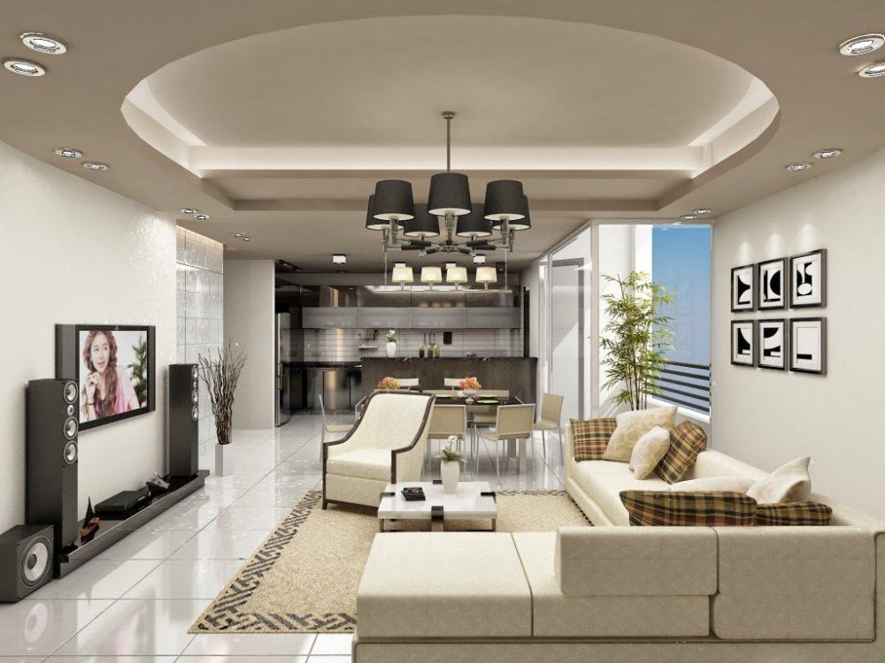 Chọn lựa 8 trần thạch cao đẹp phù hợp cho căn phòng của bạn