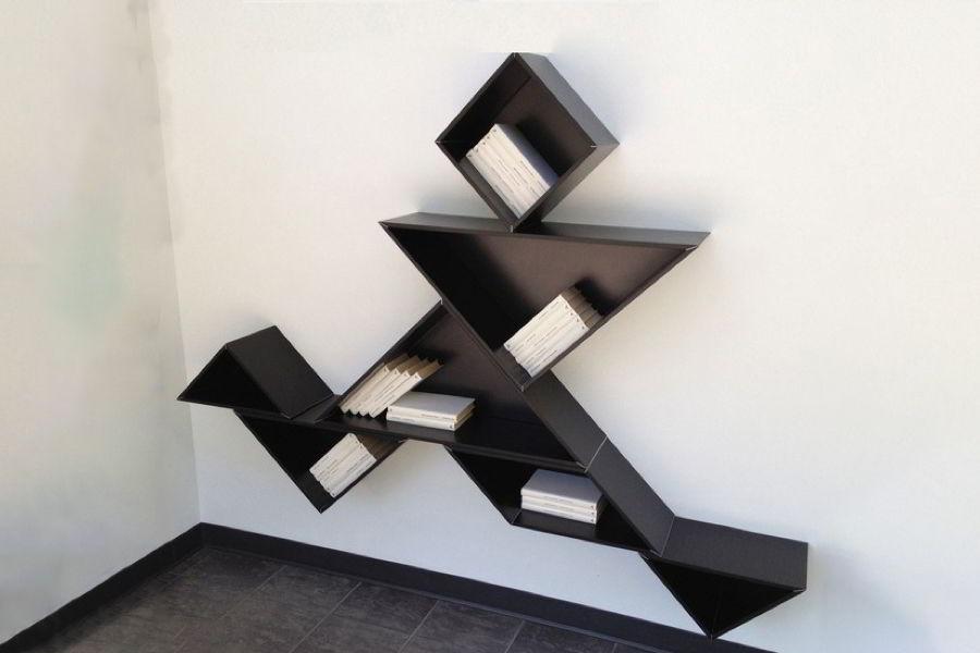 Kệ treo tường hình tam giác theo cách của bạn