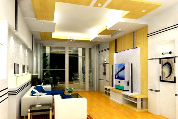 Kiểu trần thạch cao hiện đại cho phòng khách thịnh hành hiện nay