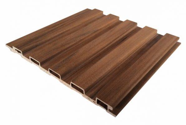 Lam nhựa giả gỗ để làm mái che