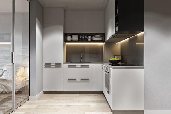 Những mẫu nhà bếp nhỏ đẹp 2021 đơn giản nhưng rất sang trọng