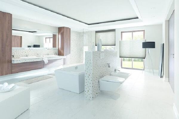 Mẫu nhà vệ sinh đẹp hiện đại kết hợp với ánh sáng
