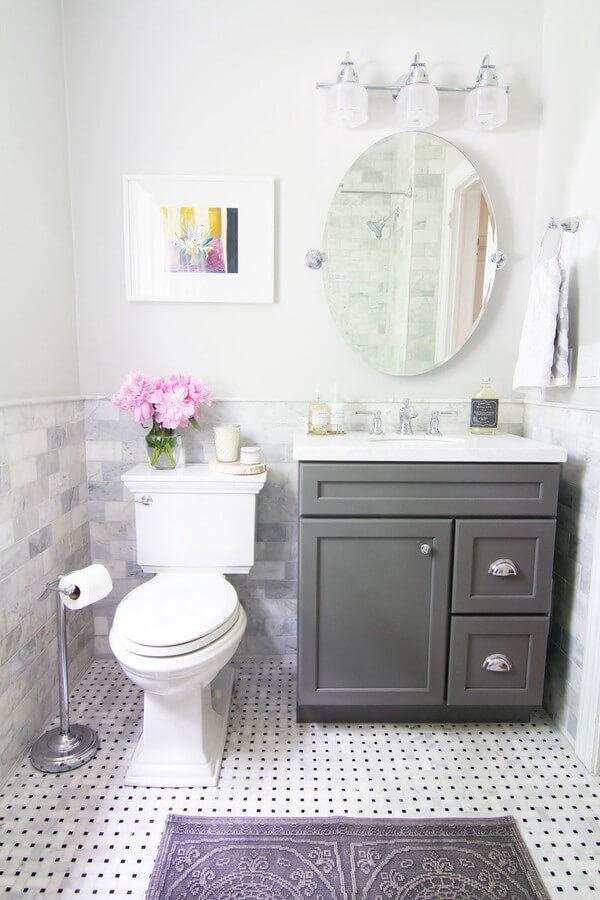 Mẫu nhà vệ sinh nhỏ đẹp đầy tinh tế