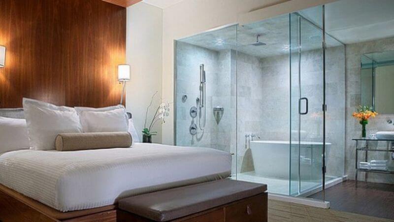 Mẫu nhà vệ sinh trong phòng ngủ đẹp và sang trọng