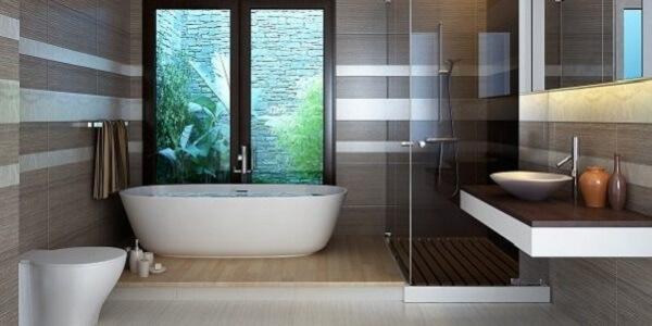 Nhà vệ sinh sang trọng và hiện đại