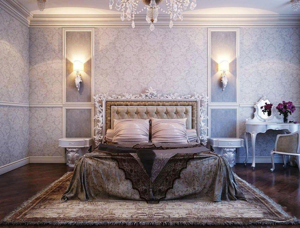 Phòng ngủ được trang trí theo kiểu cổ điển Pháp cho bạn nữa hoài cổ