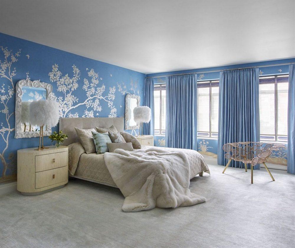 Phòng ngủ cho bạn nữ được trang trí theo cách tân cổ điển