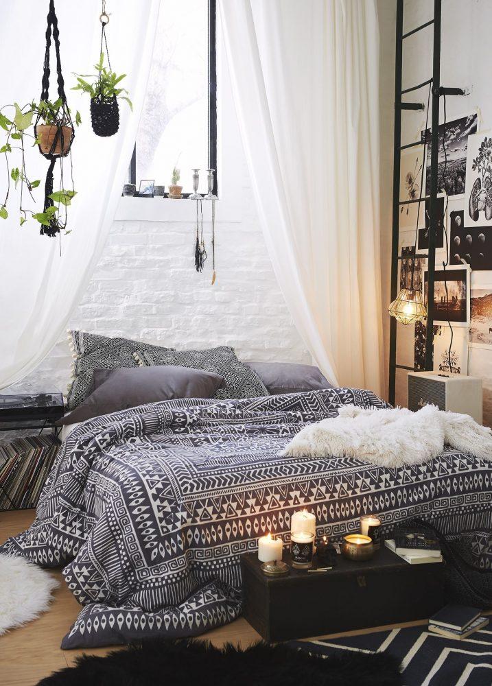 Phòng ngủ trang trí theo phong cách Bohemian