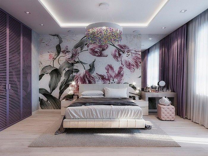 Phòng ngủ tuyệt đẹp trang trí mang đậm phong cách Botanical
