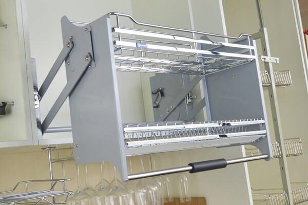 Phụ kiện tủ bếp giá nâng hãng Boss chất lượng