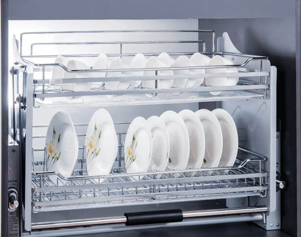 Phụ kiện tủ bếp inox 304 siêu bền và đẹp