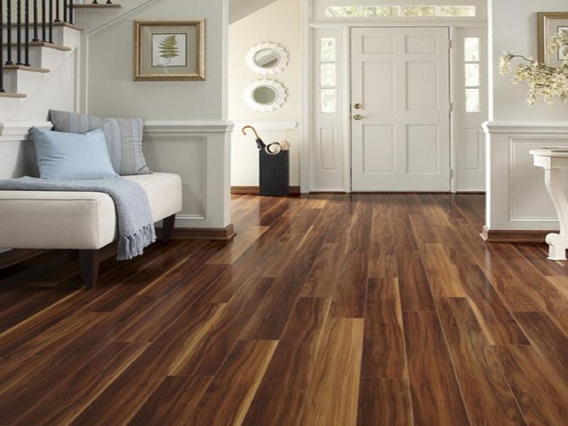 Sàn nhà từ gỗ công nghiệp
