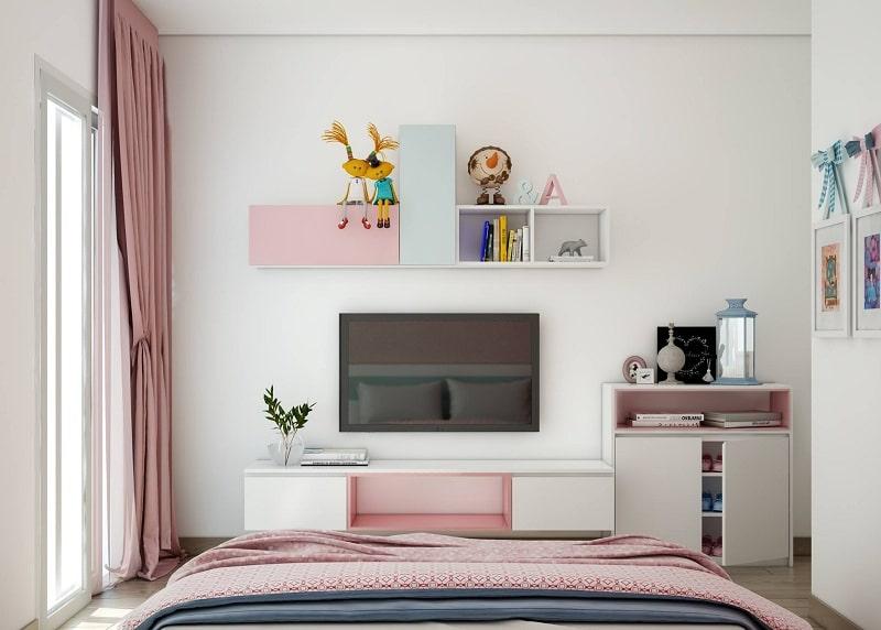 Sử dụng kệ, hộc treo tường tối ưu diện tích căn phòng