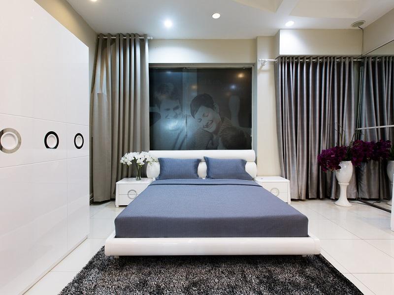 Sử dụng thảm trải sàn cho phòng ngủ thêm đẹp