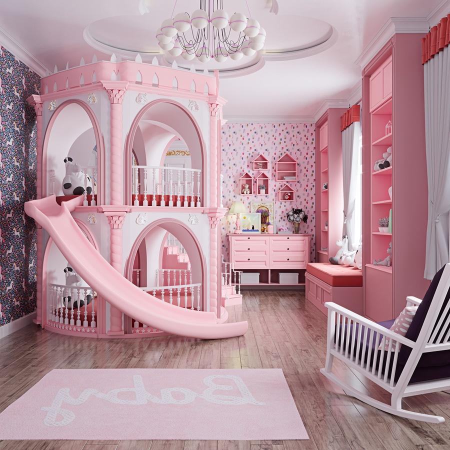 Thiết kế nội thất phòng ngủ cho trẻ em độc đáo