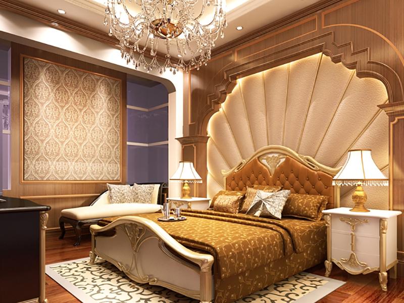 Thiết kế nội thất sang trọn cho phòng ngủ 20m2