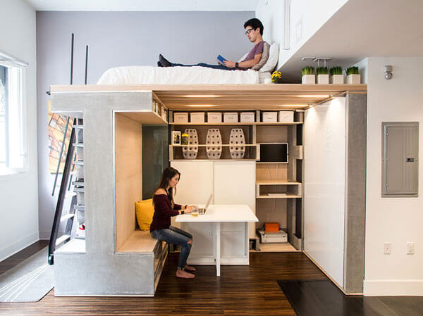 Thiết kế phòng trọ 30m2 theo kiểu chung cư mini