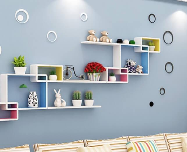 Top 10 các mẫu kệ trang trí phòng khách không thể thiếu trong gia đình bạn