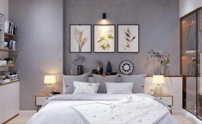 Top 6 mẫu thiết kế nội thất phòng ngủ nhỏ đơn giản mà cực đẹp