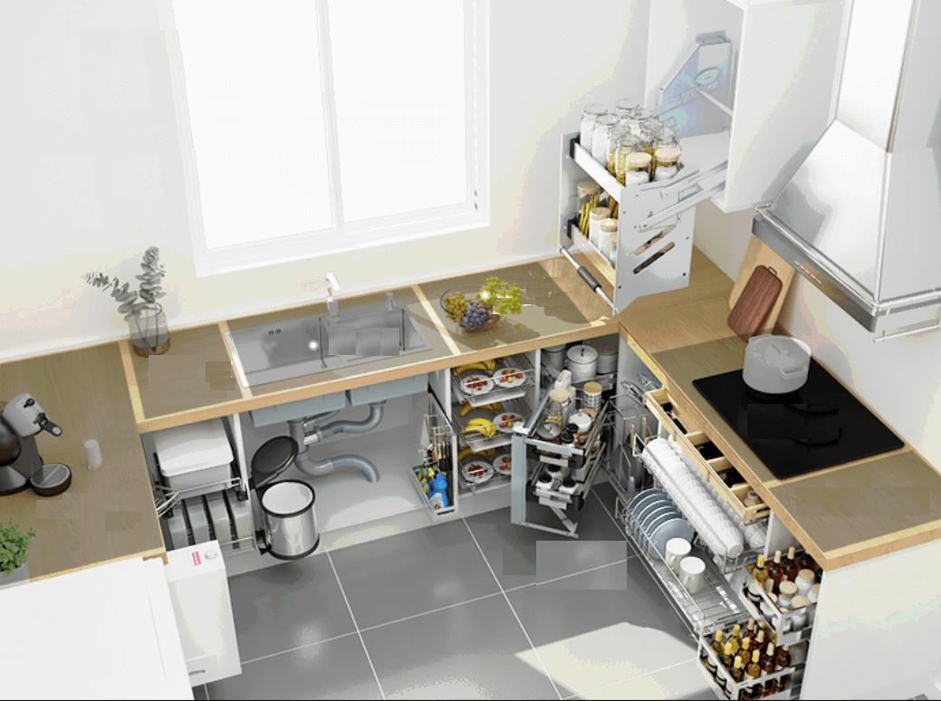 Top 9+ phụ kiện tủ bếp thông minh và cao cấp nhất mà bạn biết