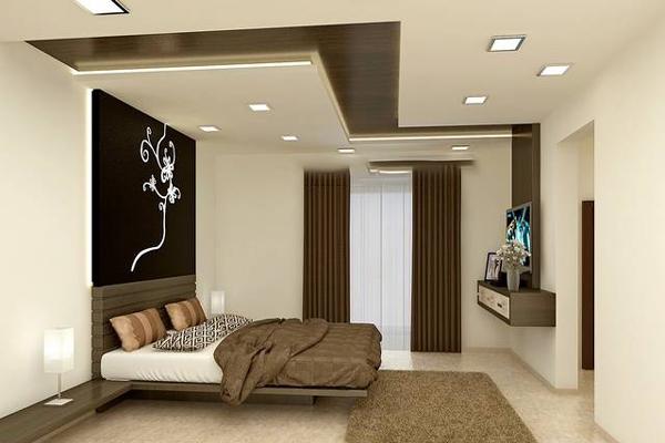 Trần thạch cao cho phòng ngủ đơn giản