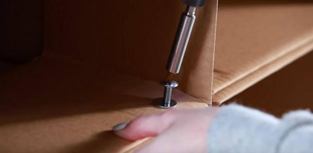 Cách làm kệ sách bằng giấy carton