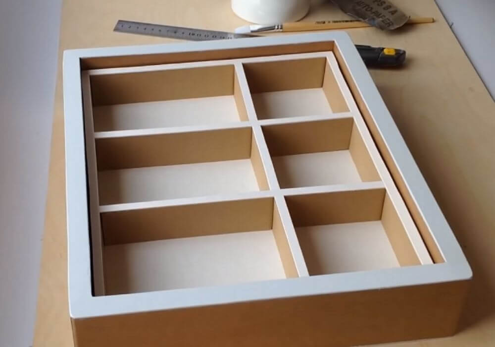 Cách làm kệ sách bằng thùng giấyCách làm kệ sách bằng thùng giấy