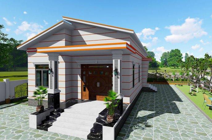 20+ Thiết kế nhà cấp 4 mái lệch đẹp ấn tượng tại Blog Trang Trí Nội Thất