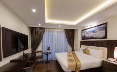 24 Mẫu thiết kế phòng ngủ khách sạn đẹp loại nhỏ và các khách sạn mini