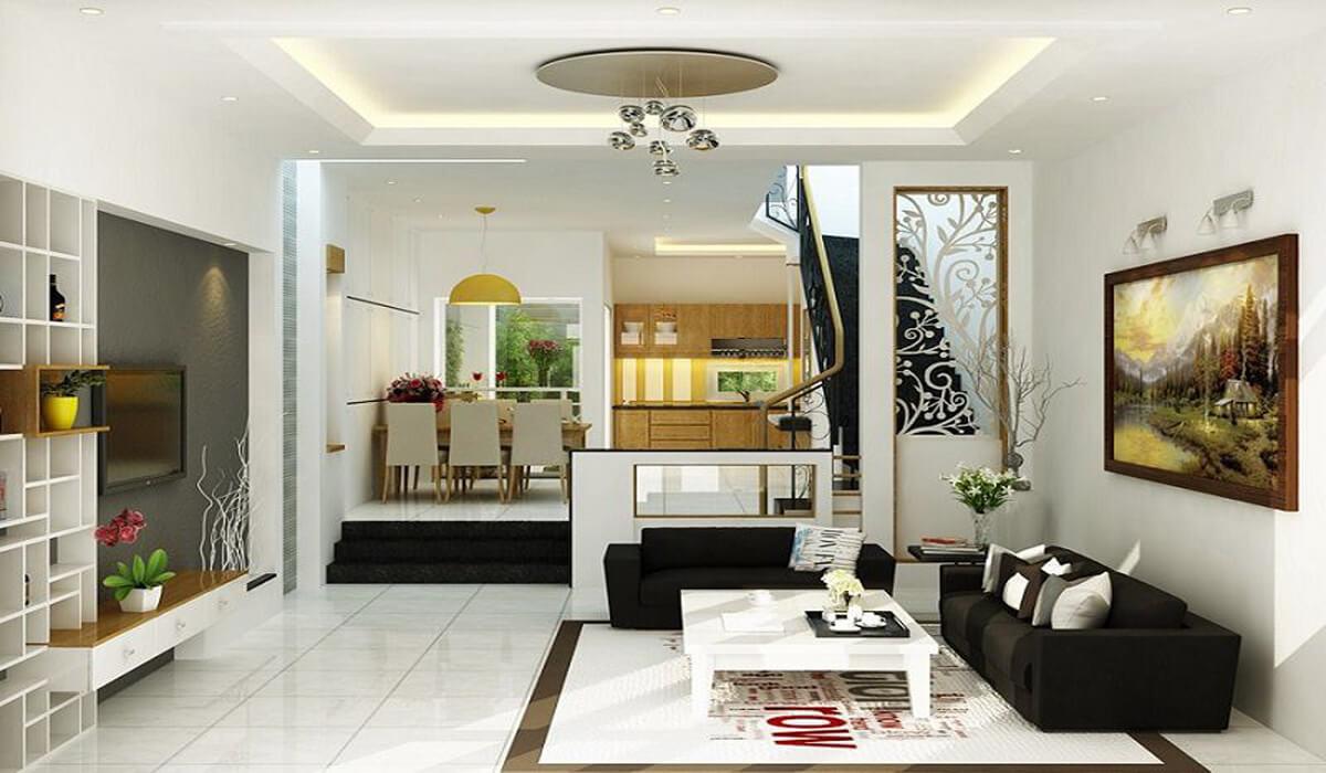 33 Mẫu phòng khách nhà ống có thiết kế đẹp, độc đáo và sang trọng