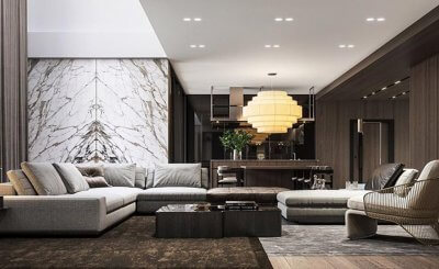 35 Mẫu thiết kế nội thất phòng khách đẹp và sang trọng hiện nay
