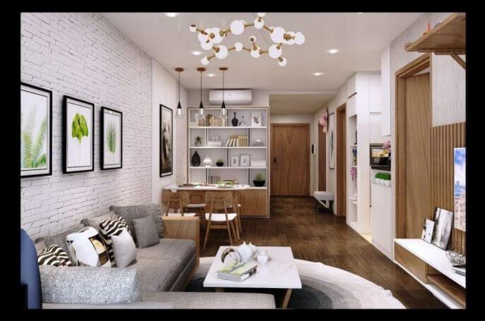 Điểm danh những mẫu thiết kế chung cư 70m2 đẹp và hiện đại 2021