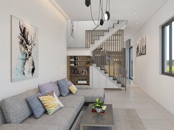 Mẫu thiết kế cho nhà có bề ngang hẹp