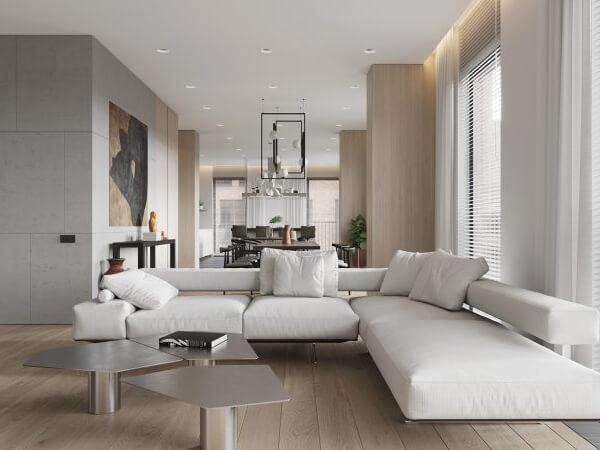 Mẫu thiết kế nhà chung cư 90m2 cho 3 phòng ngủ