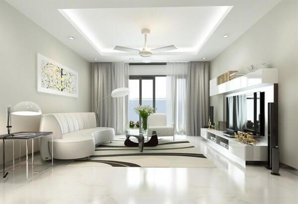 Mẫu thiết kế nội thất phòng khách thiên hướng hiện đại