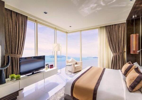 Mẫu thiết kế phòng ngủ cho khách sạn mini ở biển