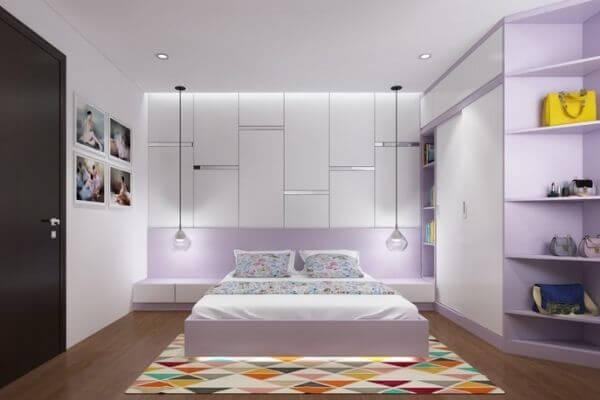 Mẫu thiết kế phòng ngủ dễ thương