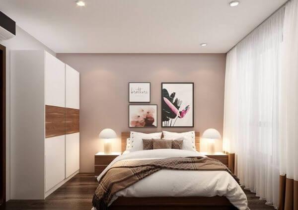 Mẫu thiết kế phòng ngủ khách sạn mini đơn giản