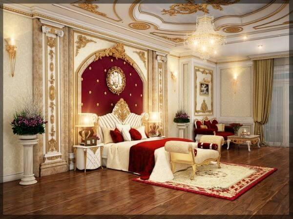 Mẫu thiết kế phòng ngủ khách sạn mini tân cổ điển